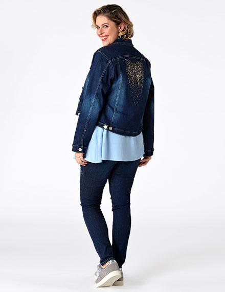 Jeans-Stile für Groβe Gröβen