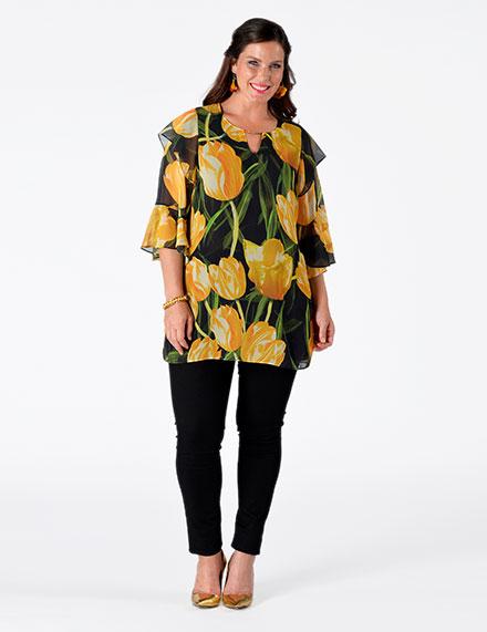 Damenbekleidung für große Größen